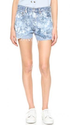 Обрезанные шорты Rialto Jean Project. Цвет: голубой