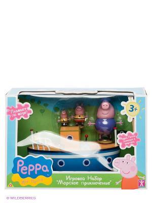 Игровой набор Морское приключение, Свинка Пеппа Peppa Pig. Цвет: желтый, розовый