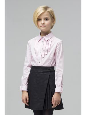 Блузка SILVER SPOON. Цвет: розовый