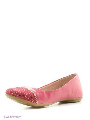 Балетки Ortope. Цвет: розовый