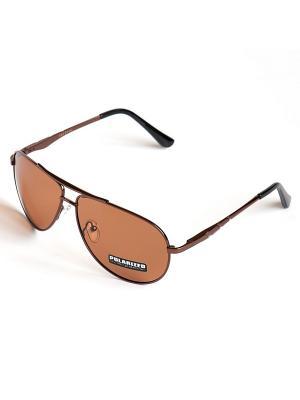 Солнцезащитные очки Selena. Цвет: коричневый, черный