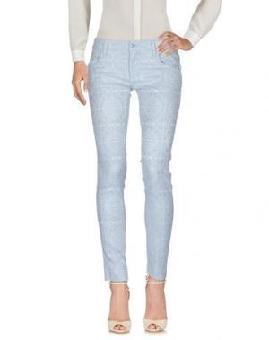 Повседневные брюки SHAFT. Цвет: светло-серый