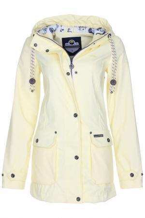 Куртка SCHMUDDELWEDDA. Цвет: желтый