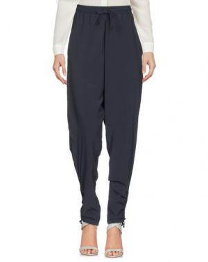 Повседневные брюки NEW BALANCE. Цвет: темно-синий
