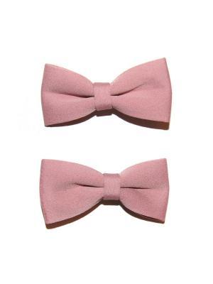 Зажим, 2 шт Lola. Цвет: розовый