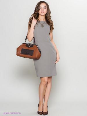 Платье Stets. Цвет: серый