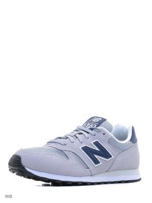 Кроссовки NEW BALANCE 373. Цвет: серый