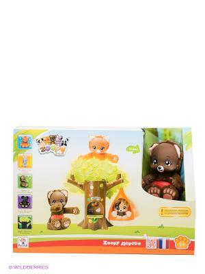 Развивающая игрушка Zoopy. Цвет: коричневый, зеленый