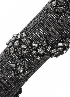 Браслет-рукав из металла и стекла Erickson Beamon. Цвет: multicolor