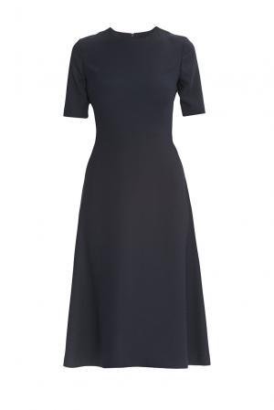 Alessandro Dellacqua Платье из искусственного шелка 177242 Dell'acqua. Цвет: синий