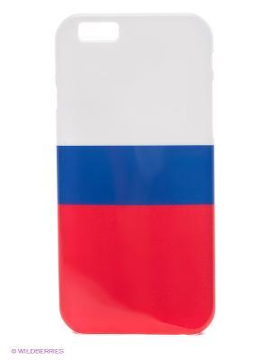 Чехол для iphone 6 WB. Цвет: белый, синий, красный