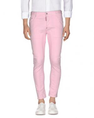 Джинсовые брюки DSQUARED2. Цвет: розовый