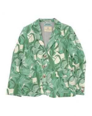 Пиджак SCOTCH & SHRUNK. Цвет: зеленый