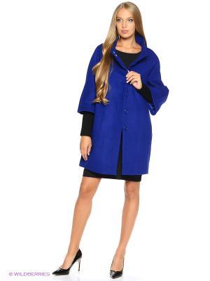 Пальто COMPAGNIA ITALIANA. Цвет: синий