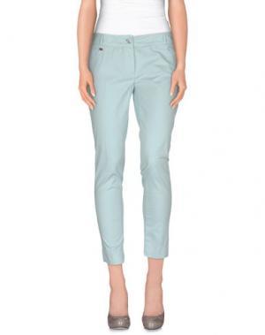 Повседневные брюки MANILA GRACE DENIM. Цвет: небесно-голубой