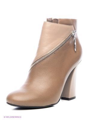 Ботинки Calipso. Цвет: светло-серый