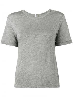 Классическая футболка Lot78. Цвет: серый