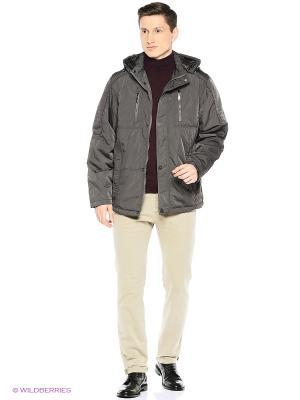 Куртка Milton. Цвет: серый