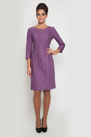Платье NVCollection. Цвет: фиолетовый