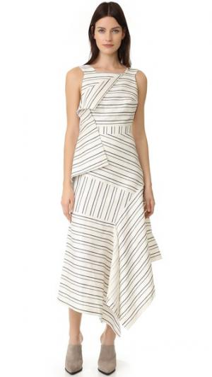 Платье Harlan Acler. Цвет: основа в полоску