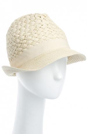 Шляпа Melissa Odabash. Цвет: кремовый