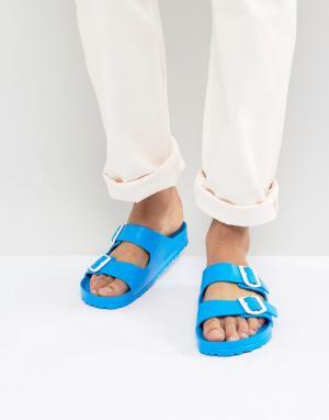 Birkenstock Синие сандалии Arizona Eva. Цвет: синий