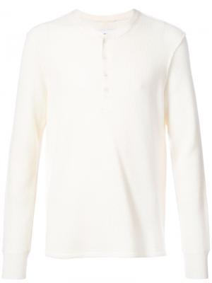 Свитер с круглым вырезом Ovadia & Sons. Цвет: белый