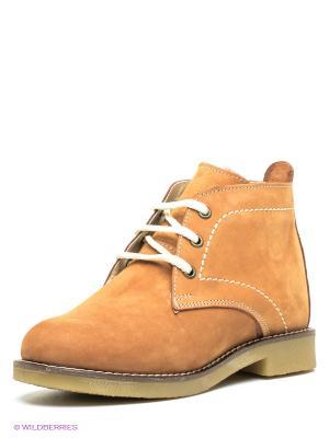 Ботинки Mario Ponti. Цвет: горчичный