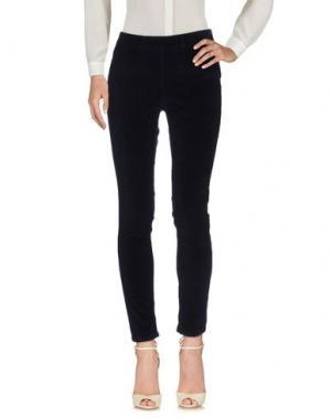 Повседневные брюки INDI & COLD. Цвет: темно-синий