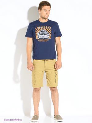 Шорты ЗАПОРОЖЕЦ Cargo Shorts. Цвет: коричневый