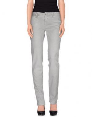 Повседневные брюки JFOUR. Цвет: серый
