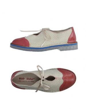 Обувь на шнурках WALLY WALKER. Цвет: слоновая кость