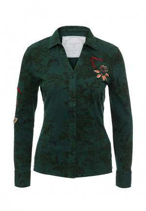 Рубашка Camomilla. Цвет: зеленый