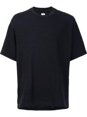 Свободная футболка 321. Цвет: чёрный