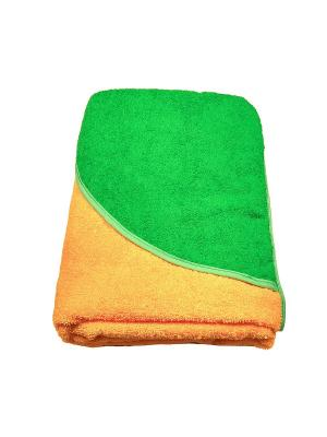Полотенце-уголок Baby Swimmer. Цвет: оранжевый