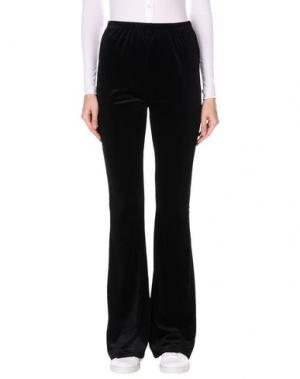Повседневные брюки WYLDR. Цвет: черный