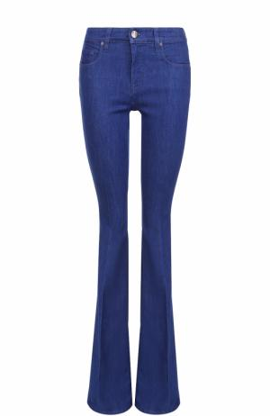 Расклешенные джинсы со стрелками Victoria, Victoria Beckham. Цвет: голубой