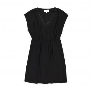 Платье с короткими рукавами SUD EXPRESS. Цвет: черный