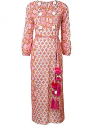 Платье Ravenna Figue. Цвет: розовый и фиолетовый