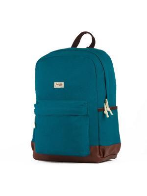 Рюкзак ЗАПОРОЖЕЦ Daypack Classic. Цвет: синий, коричневый