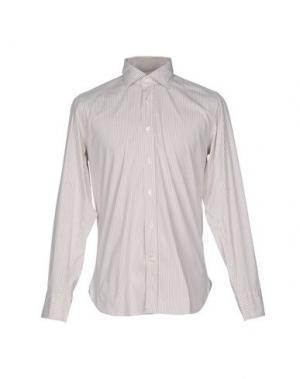Pубашка GUGLIELMINOTTI. Цвет: бежевый