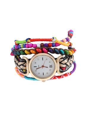 Браслет-часы Olere. Цвет: черный, золотистый, розовый