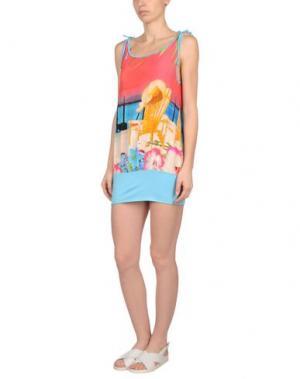 Пляжное платье MISS NAORY. Цвет: фуксия
