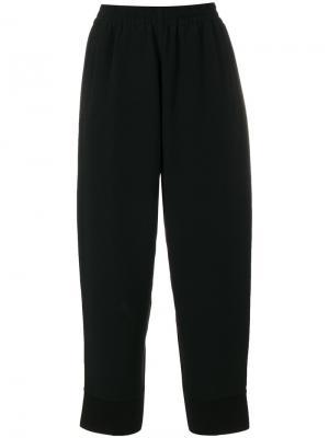 Укороченные брюки Stella McCartney. Цвет: чёрный