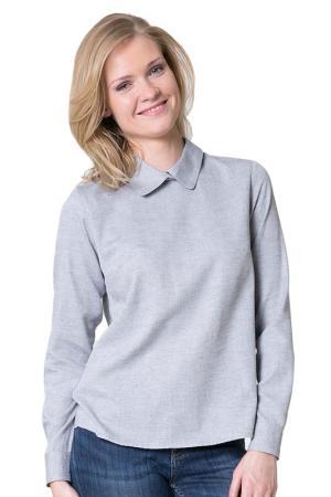 Блуза BIG STAR. Цвет: серый