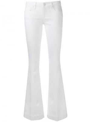 Расклешенные джинсы Fiona Paige. Цвет: белый