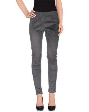 Повседневные брюки KANGRA CASHMERE. Цвет: стальной серый