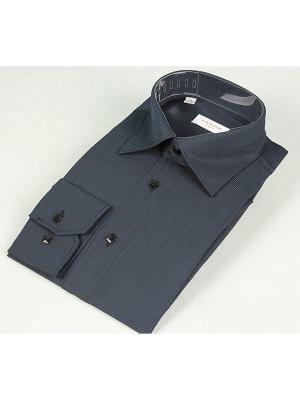Рубашка LIVANSO. Цвет: темно-серый