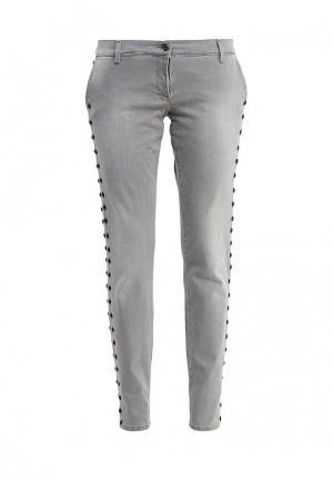 Джинсы Trussardi Jeans. Цвет: серый
