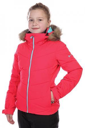 Куртка детская  Snowstorm Girl Jk Diva Pink Roxy. Цвет: розовый
